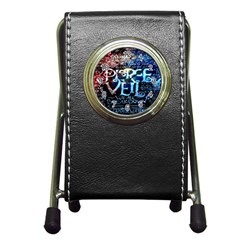 Pierce The Veil Quote Galaxy Nebula Pen Holder Desk Clocks