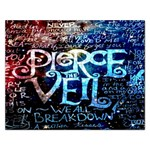 Pierce The Veil Quote Galaxy Nebula Rectangular Jigsaw Puzzl Front