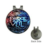 Pierce The Veil Quote Galaxy Nebula Hat Clips with Golf Markers Front