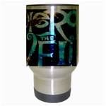 Pierce The Veil Quote Galaxy Nebula Travel Mug (Silver Gray) Center