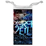Pierce The Veil Quote Galaxy Nebula Jewelry Bags Front