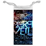 Pierce The Veil Quote Galaxy Nebula Jewelry Bags Back