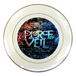 Pierce The Veil Quote Galaxy Nebula Porcelain Plates Front