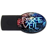 Pierce The Veil Quote Galaxy Nebula USB Flash Drive Oval (4 GB)  Front