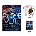 Pierce The Veil Quote Galaxy Nebula Playing Card Back