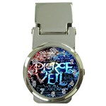 Pierce The Veil Quote Galaxy Nebula Money Clip Watches Front
