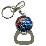 Pierce The Veil Quote Galaxy Nebula Bottle Opener Key Chains Front