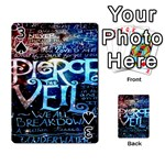 Pierce The Veil Quote Galaxy Nebula Playing Cards 54 Designs  Front - Spade3