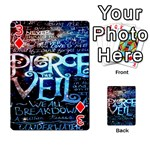 Pierce The Veil Quote Galaxy Nebula Playing Cards 54 Designs  Front - Diamond3