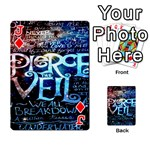 Pierce The Veil Quote Galaxy Nebula Playing Cards 54 Designs  Front - DiamondJ