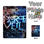 Pierce The Veil Quote Galaxy Nebula Playing Cards 54 Designs  Front - Club2