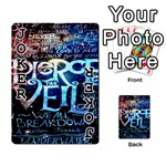 Pierce The Veil Quote Galaxy Nebula Playing Cards 54 Designs  Front - Joker1