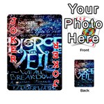 Pierce The Veil Quote Galaxy Nebula Playing Cards 54 Designs  Front - Joker2