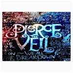 Pierce The Veil Quote Galaxy Nebula Collage Prints 18 x12 Print - 2