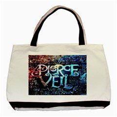 Pierce The Veil Quote Galaxy Nebula Basic Tote Bag