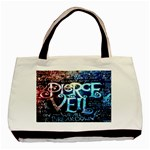 Pierce The Veil Quote Galaxy Nebula Basic Tote Bag Front