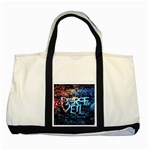 Pierce The Veil Quote Galaxy Nebula Two Tone Tote Bag Front