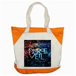 Pierce The Veil Quote Galaxy Nebula Accent Tote Bag Front