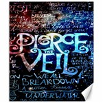 Pierce The Veil Quote Galaxy Nebula Canvas 20  x 24   24 x20 Canvas - 1