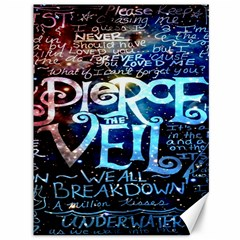 Pierce The Veil Quote Galaxy Nebula Canvas 36  X 48