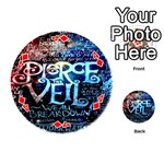 Pierce The Veil Quote Galaxy Nebula Playing Cards 54 (Round)  Front - Diamond4