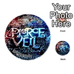 Pierce The Veil Quote Galaxy Nebula Playing Cards 54 (Round)  Front - Joker1