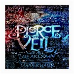 Pierce The Veil Quote Galaxy Nebula Medium Glasses Cloth (2-Side) Front