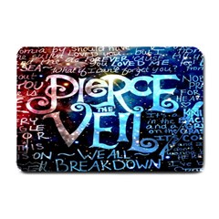 Pierce The Veil Quote Galaxy Nebula Small Doormat