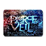Pierce The Veil Quote Galaxy Nebula Small Doormat  24 x16 Door Mat - 1