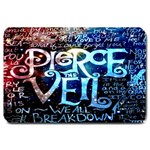 Pierce The Veil Quote Galaxy Nebula Large Doormat  30 x20 Door Mat - 1