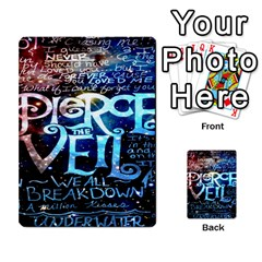 Pierce The Veil Quote Galaxy Nebula Multi-purpose Cards (Rectangle)