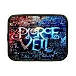 Pierce The Veil Quote Galaxy Nebula Netbook Case (Small)  Front