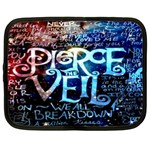 Pierce The Veil Quote Galaxy Nebula Netbook Case (Large) Front