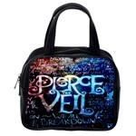 Pierce The Veil Quote Galaxy Nebula Classic Handbags (One Side) Front