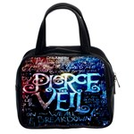 Pierce The Veil Quote Galaxy Nebula Classic Handbags (2 Sides) Front