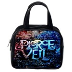 Pierce The Veil Quote Galaxy Nebula Classic Handbags (2 Sides) Back