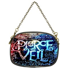 Pierce The Veil Quote Galaxy Nebula Chain Purses (one Side)