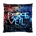 Pierce The Veil Quote Galaxy Nebula Standard Cushion Case (Two Sides) Back
