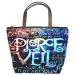 Pierce The Veil Quote Galaxy Nebula Bucket Bags Front