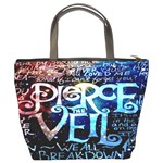 Pierce The Veil Quote Galaxy Nebula Bucket Bags Back