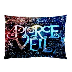 Pierce The Veil Quote Galaxy Nebula Pillow Case