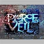 Pierce The Veil Quote Galaxy Nebula Mini Canvas 7  x 5  7  x 5  x 0.875  Stretched Canvas