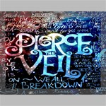 Pierce The Veil Quote Galaxy Nebula Canvas 16  x 12  16  x 12  x 0.875  Stretched Canvas