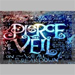 Pierce The Veil Quote Galaxy Nebula Canvas 18  x 12  18  x 12  x 0.875  Stretched Canvas