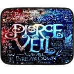 Pierce The Veil Quote Galaxy Nebula Double Sided Fleece Blanket (Mini)  35 x27 Blanket Front