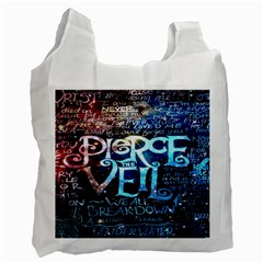 Pierce The Veil Quote Galaxy Nebula Recycle Bag (One Side)
