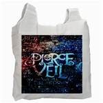 Pierce The Veil Quote Galaxy Nebula Recycle Bag (Two Side)  Front