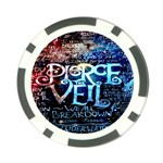 Pierce The Veil Quote Galaxy Nebula Poker Chip Card Guards (10 pack)  Front