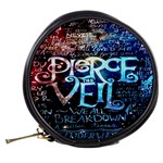 Pierce The Veil Quote Galaxy Nebula Mini Makeup Bags Back