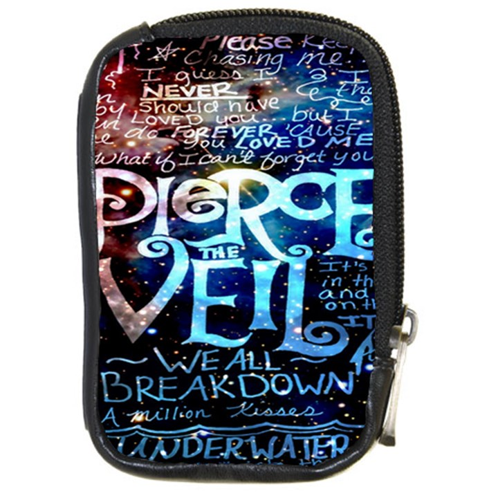 Pierce The Veil Quote Galaxy Nebula Compact Camera Cases